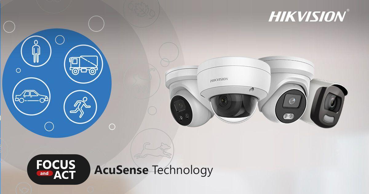 كاميرات المراقبة بتقنية ACUSENSE