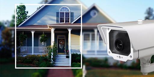كاميرات المراقبة في البيت
